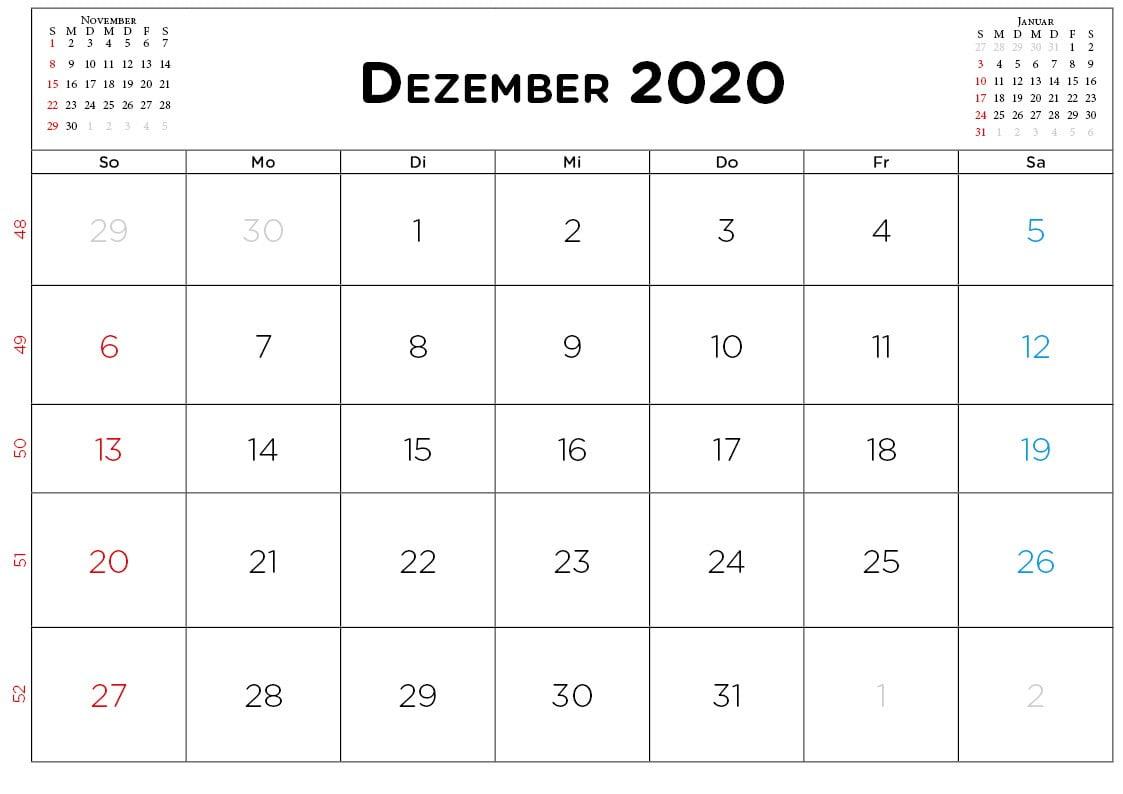 Dezember 2020_mini_kalender