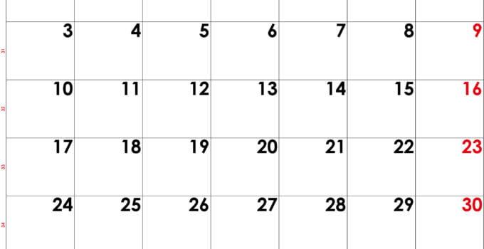 calendrier aout 2020 à imprimer