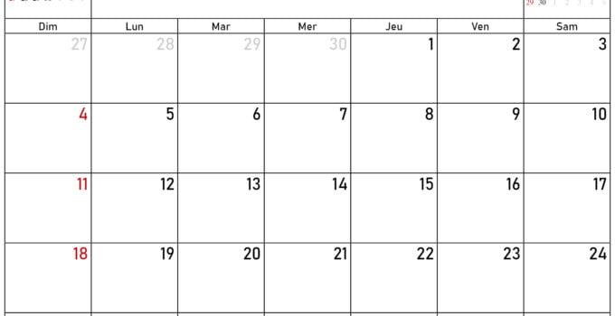 Calendrier septembre octobre novembre décembre 2020