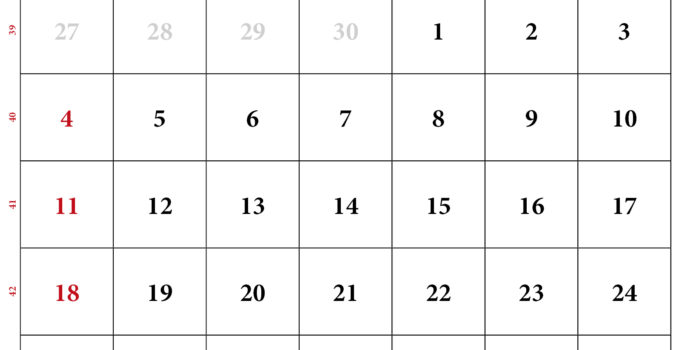 kalenderpedia oktober 2020