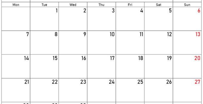 september and october 2020 calendar