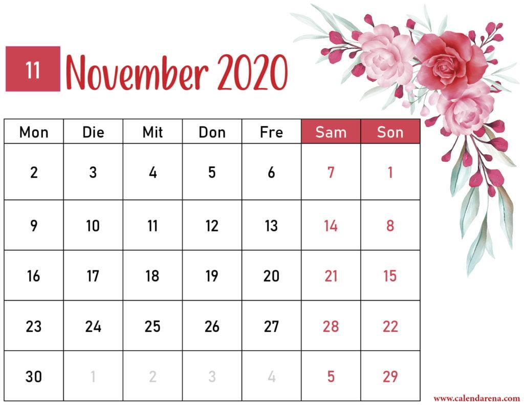 Blumenkalender November 2020-3