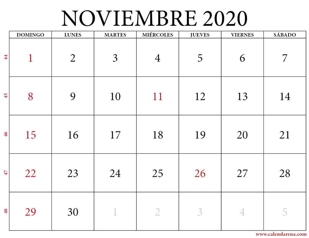 noviembre calendario 2020 paisaje-1