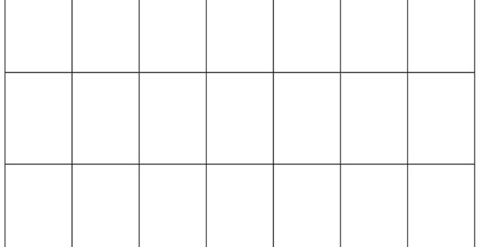 blank calendar november 2020_black