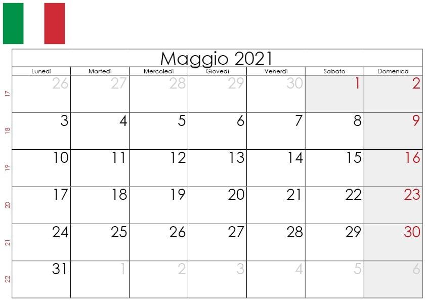 Calendario maggio 2021 da stampare2