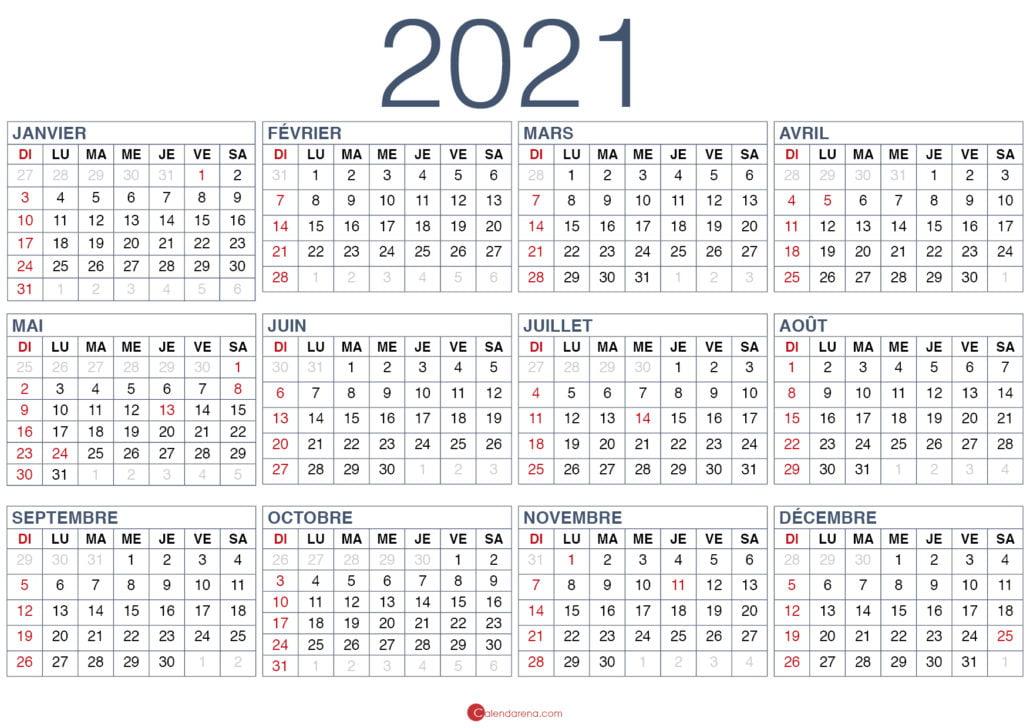 calendrier 2021 gratuit2