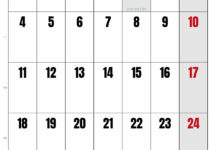 calendrier janvier 2020 avec semaine