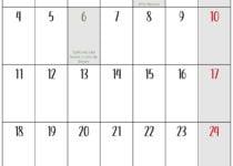 enero calendario 2021