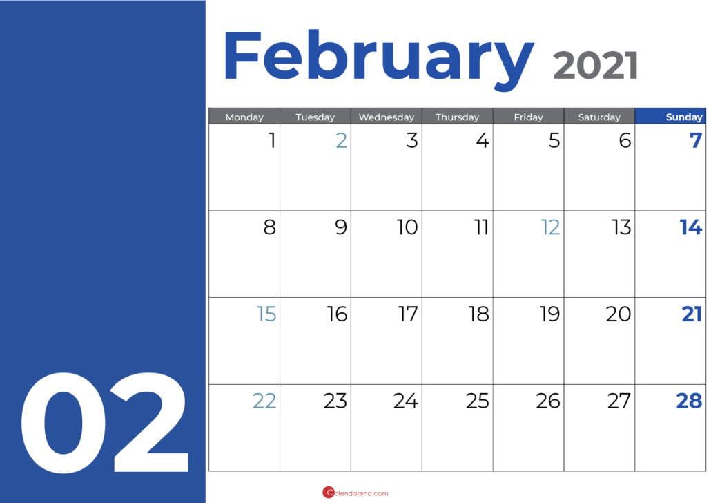 february days bleu