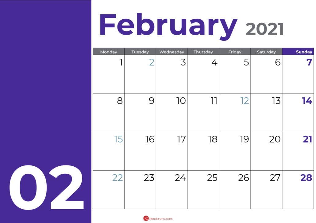 February days purple