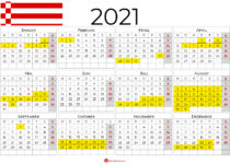 kalender 2021 Bremen Querformat