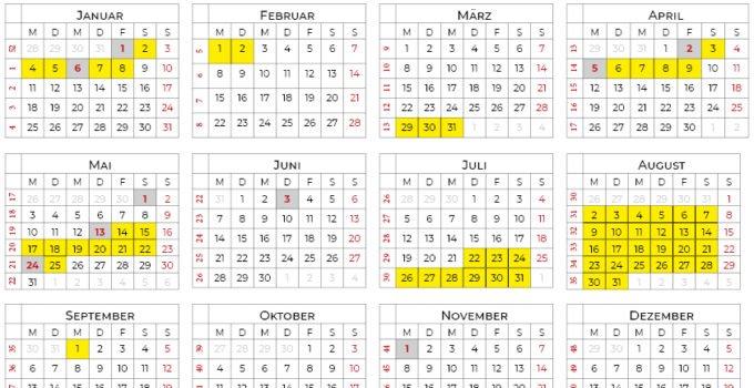 Kalender 2021 Niedersachsen Calendarena