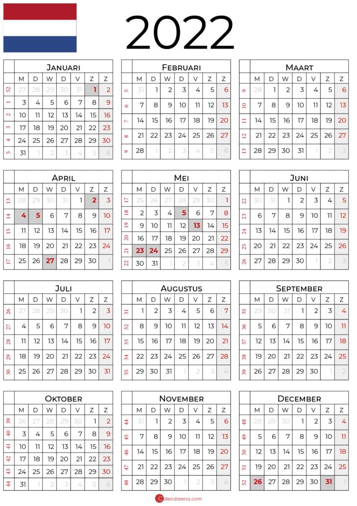 kalender-2022-met-feestdagen