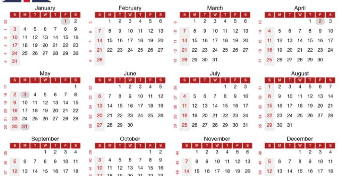 2021 calendar with week numbers