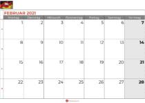 Kalender februar 2021 Niedersachsen