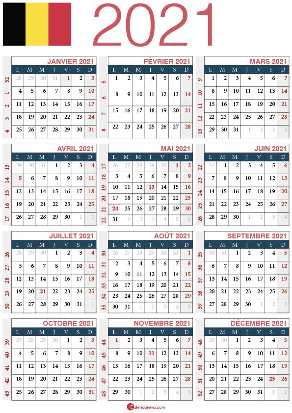 calendrier 2021 belgique_1