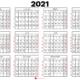 kalender 2021 til print : Danmark 🇩🇰