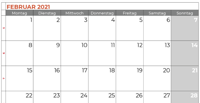 kalender februar 2021 brandenburg