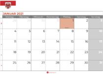 kalender januar 2021 brandenburg