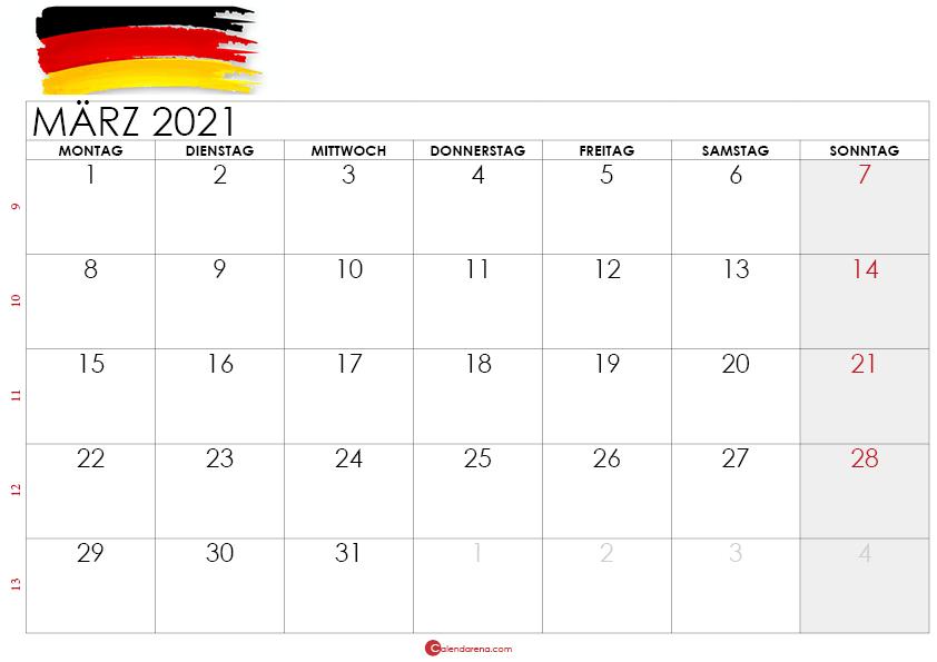 kalender märz 2021 -deutshland4