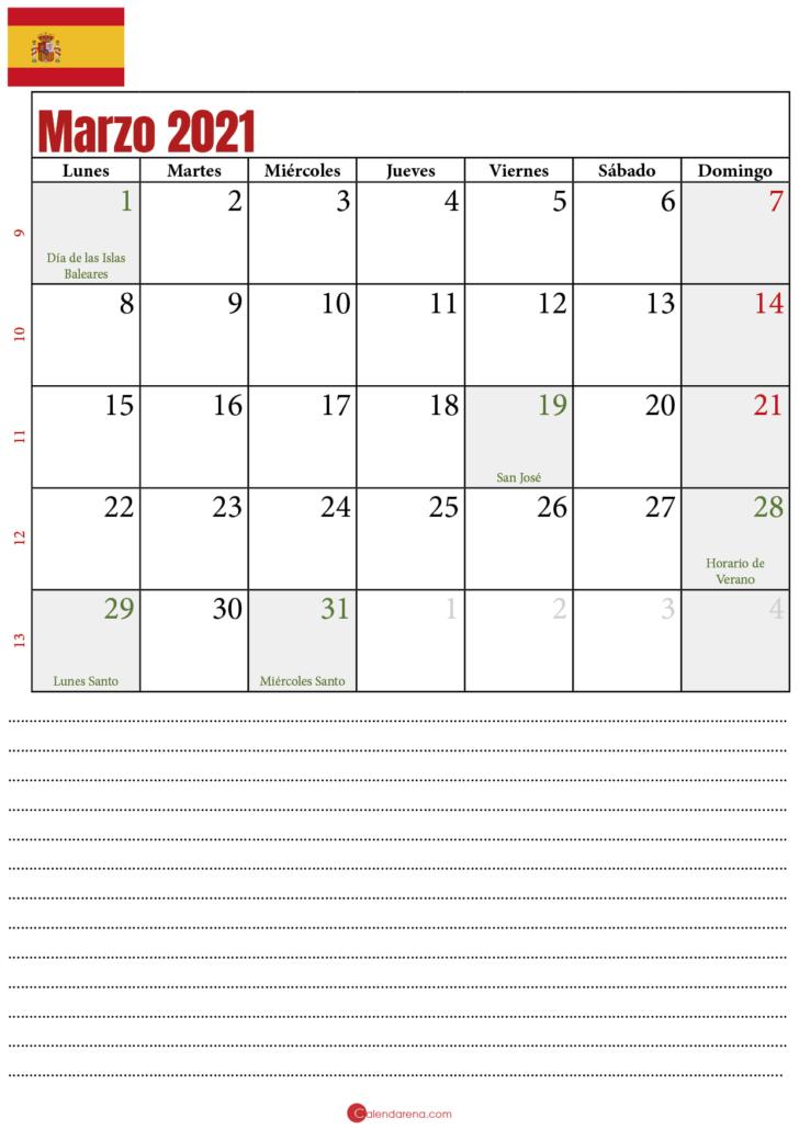 calendario marzo 2021_2