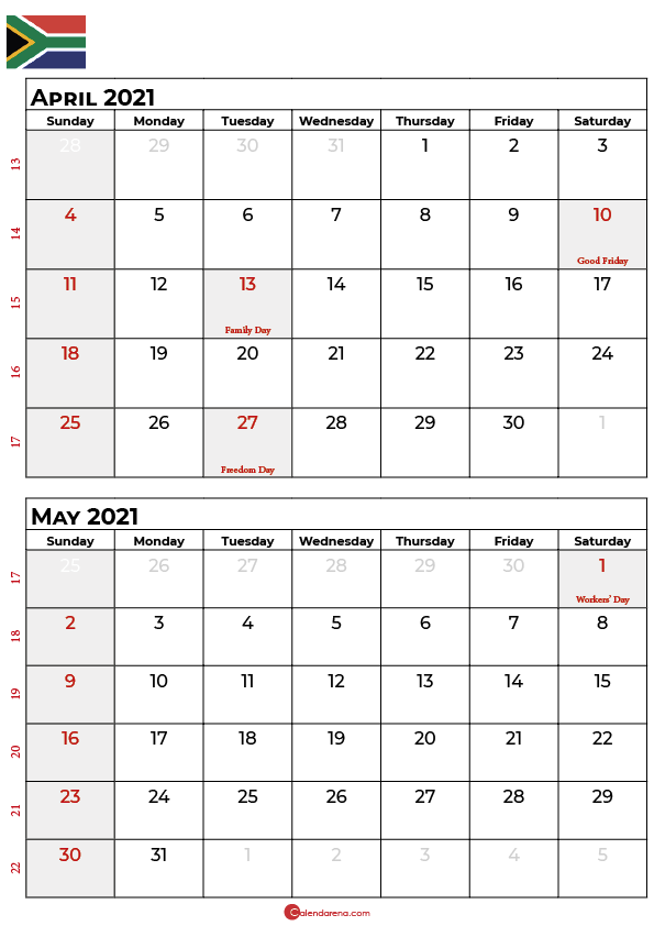 april may 2021 calendar_portrait SA