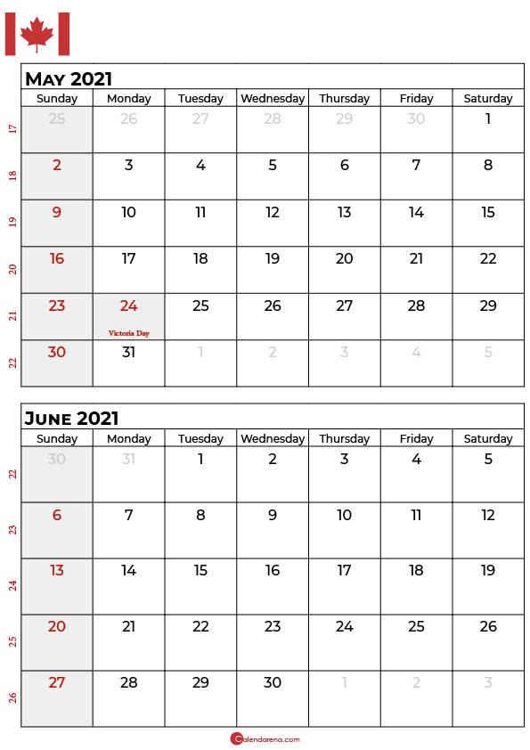 may june 2021 calendar portrait