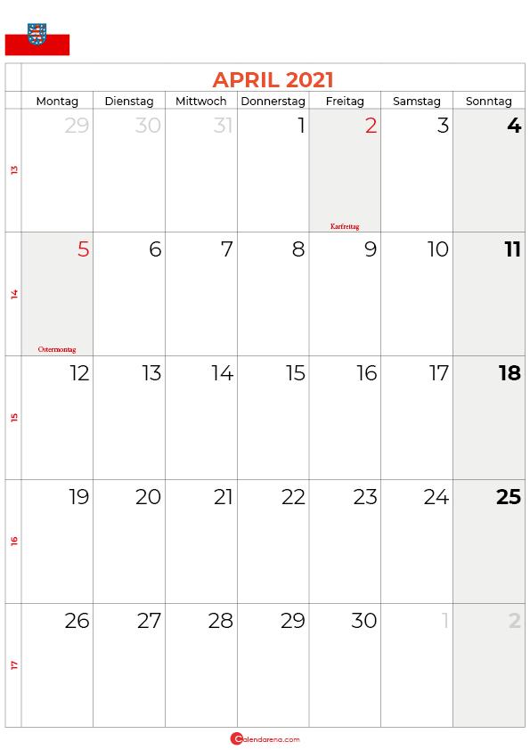 2021-april-kalender-Thüringen