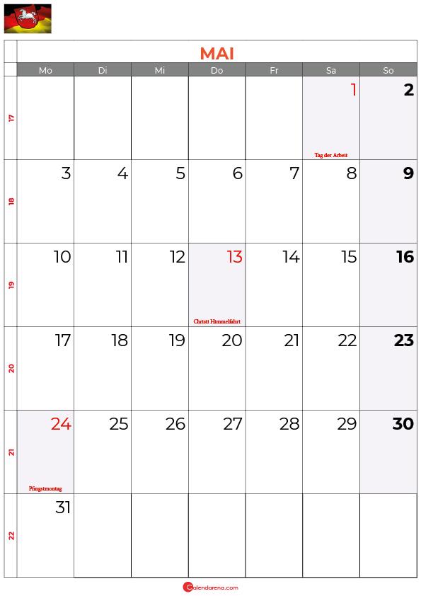 2021-mai-kalender-Niedersachsen