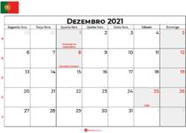 calendário dezembro 2021 portugal