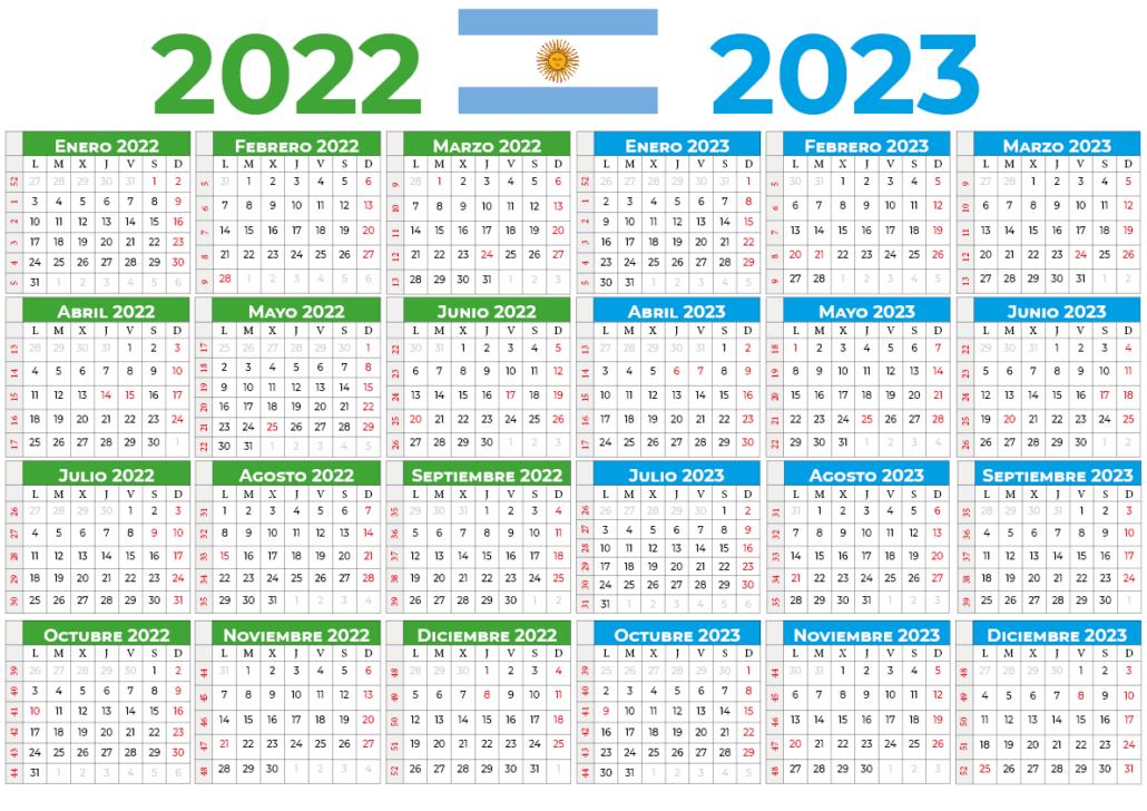 Calendário 2022-2023 argentina