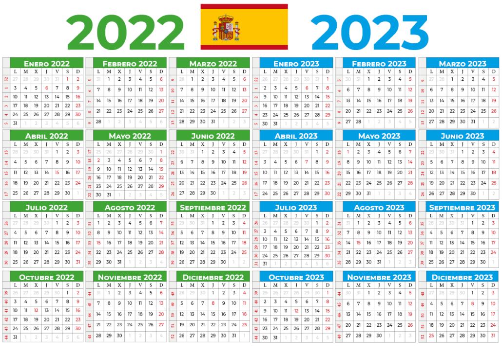 Calendário 2022-2023 espana