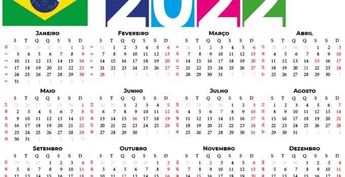 Calendário 2022 do brasil
