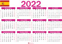 calendario 2022 españa