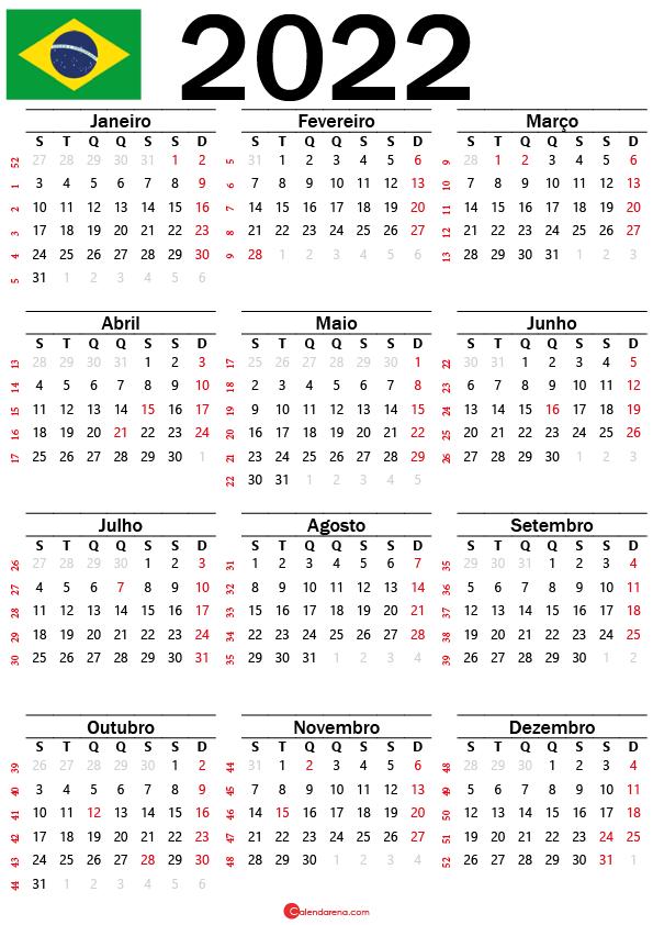 calendario 2022 feriados