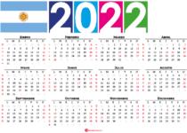calendario 2022 festivos argentina