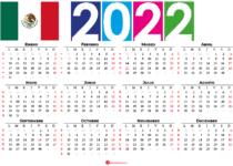 calendario 2022 festivos mexico