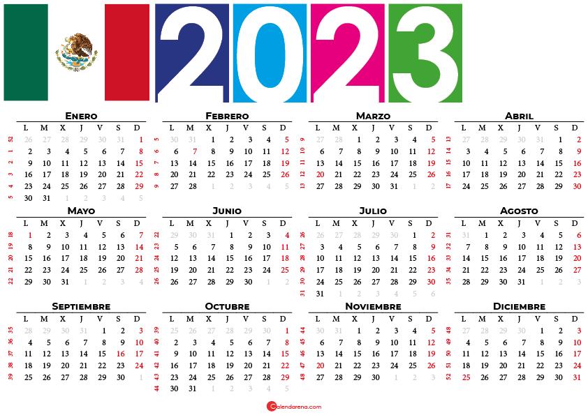 calendario 2023 argentina