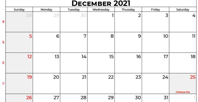 december 2021 calendar au