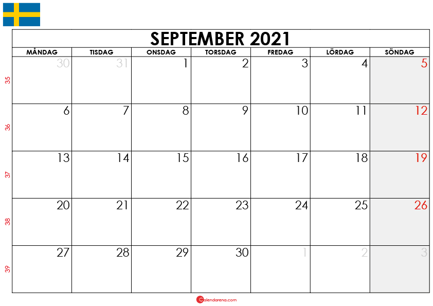 Kalender Veckor