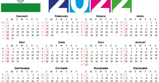 2022 calendar india with indian holidays