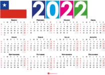 calendario 2022 festivos chilie
