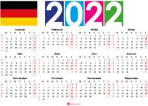 kalender 2022 Deutschland