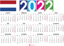 kalender 2022 Nederland