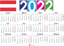 kalender 2022 Österreich