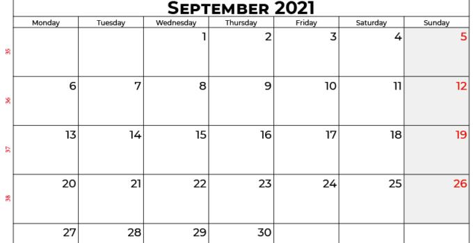 september 2021 calendar india
