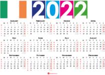 2022 calendar ireland