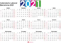 Calendario Laboral Barcelona 2021
