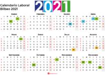 Calendario Laboral Bilbao 2021