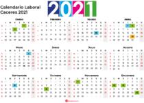 Calendario Laboral Caceres 2021